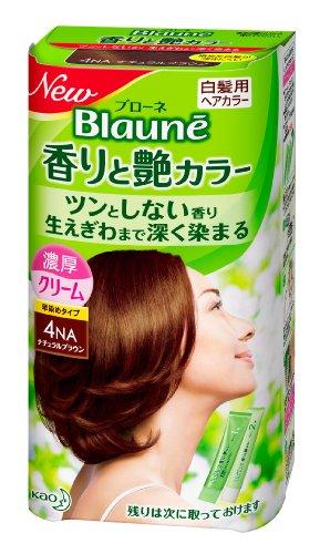ブローネ 香りと艶カラー クリーム 4NA