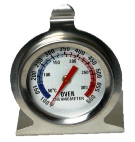 Chef Craft Stainless Steel Oven Thermometer, 3 Inch (1)