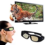 WMicroUK Top Quality 3D active DLP-Link glasses For Optoma, Acer, BenQ, NEC, ViewSonic, Sharp, Dell