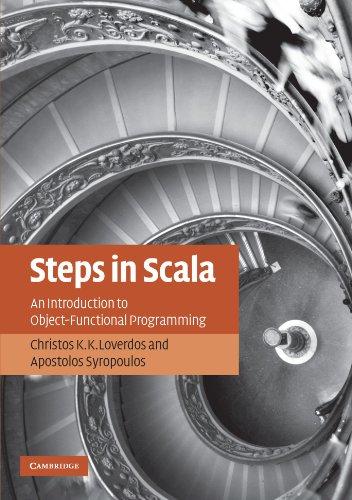 Steps in Scala Paperback
