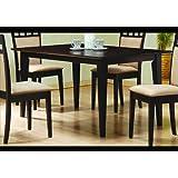 Coaster Cappuccino Rectangular Dining Table