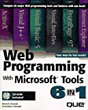 img - for Web Programming With Microsoft Tools 6 in 1 book / textbook / text book