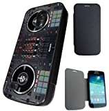 Samsung Galaxy S4 Mini Dj Mixer Clubbin Music Designer Full Case Flip Cover Defender Shockproof Holder Pouch Case Cover Iphone Wallet