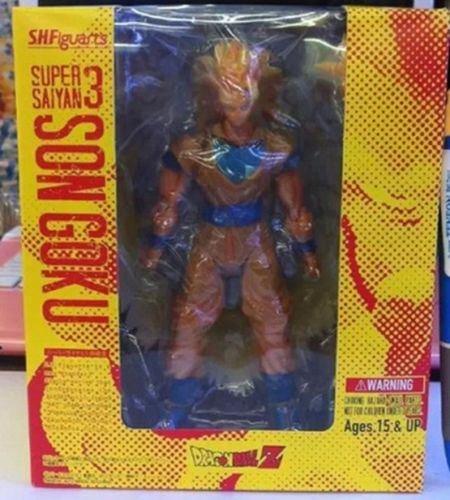 Saiyan 3 Son Goku Golden Hair 15cm/6