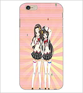PrintDhaba Fantasy Girl D-5988 Back Case Cover for APPLE IPHONE 6 (Multi-Coloured)