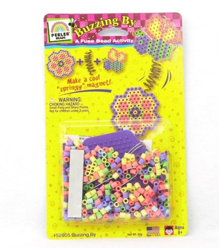Perler Fuse Bead Starter Kits-Buzzing By
