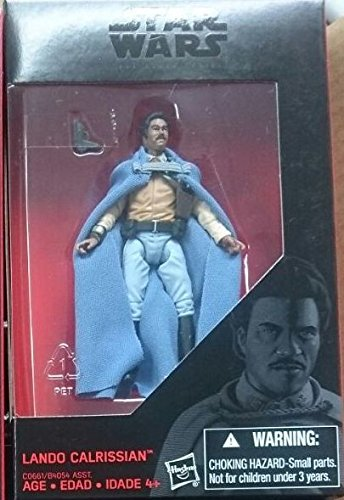 Star Wars, 2016 The Black Series, Lando Calrissian Exclusive Action Figure, 3.75 Inches