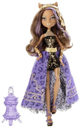 Monster High 13 Wishes Haunt The Casbah - Clawdeen Wolf