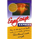 EasyScript Express: How to take fast and legible notes in a Matter of Hours. Shorthand made simpleby Leonard Levin