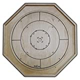 The Gold Standard - Traditional Size Crokinole Board Game Set (Color: Baltic Birch, Tamaño: Traditional Size)