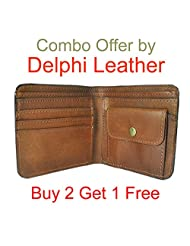 Leather Mens Wallet Combo Offer Buy 2 Get 1 Free Lw-03