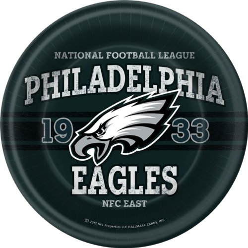Philadelphia Eagles Dinner Plates (8 per package) [Toy] - 1