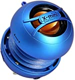X-Mini UNO XAM14-BL Portable Capsule Speaker, Mono, Blue