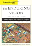 img - for Cengage Advantage Books: The Enduring Vision, Volume II book / textbook / text book