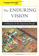 Cengage Advantage Books: The Enduring Vision, Volume II by Boyer