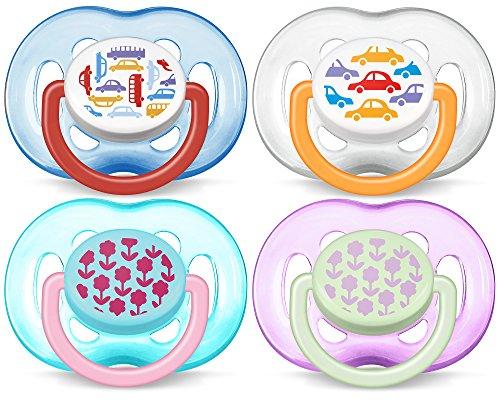 Philips Avent - SCF172/22 - 2 Succhietti Decorati - Silicone - 6-18 Mesi