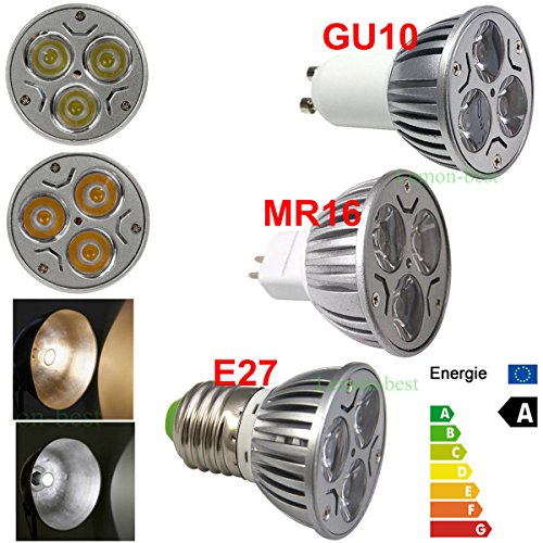 Super Bargain!!! New Model!! 1/10/50Pcs 9W Mr16 Gu10 E27 Dimmable Led Spot Down Light Lamp Bulb Warm Day Whit In Home