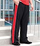 Finden Hales Contrast Track Pant - Black/Red/White - 2XL (38
