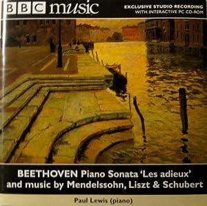 Beethoven: Piano Sonata Op. 81a - Les Adieux / Mendelssohn: Songs without Words / Liszt: Bagatelle sans Tonalite / La lugubre gondola II / Schubert: Piano Sonata in A minor D537