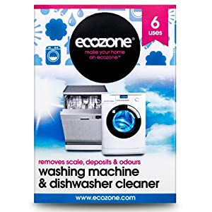 Ecozone Washing Machine and Dishwasher Cleaner x 6