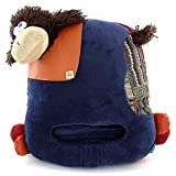 "B Bfacee Stuffed Plush Sheep Computer Slippers With Cherry Seeds For Home And Office,Blue,14""*12"",1 Pc"