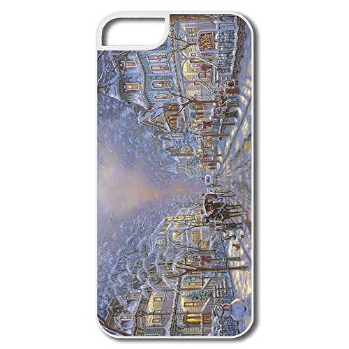 Winter Painting By Robert Finale Plastic Favorable Case For Iphone 5/5S