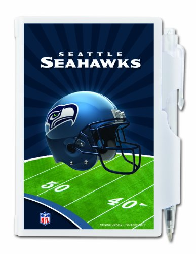 Seattle Seahawks Pocket Notes, Team Colors (12020-QVA) at Amazon.com