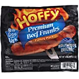 Hoffy Premium Beef Franks - 1/4 Lb Big Dogs - 2 Family Size Packages