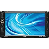 SSL DD888 In-Dash Double-Din 7-inch Motorized Detachable Touchscreen DVD/CD/USB/SD/MP4/MP3 Player Receiver with Remote