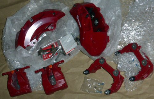 Range Rover Sport Supercharged 2014+ Red Edition Brembo Caliper Brake Set OEM