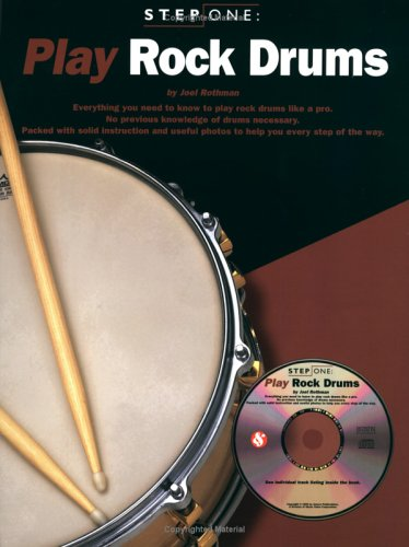 Play Rock Drums (Step One Teach Yourself)