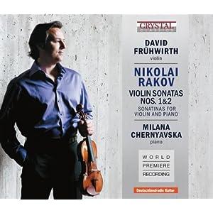 Nikolai Rakov-Violin Sonatas 1 & 2