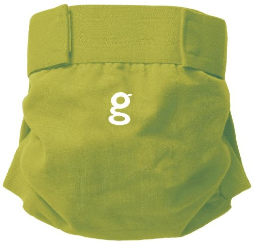gDiapers gPants Core Color - Guppy Green - X-Large (34+Ibs) - 1