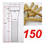 150 piecesChicken Plucker Poultry Plucking Finger Chicken Finger