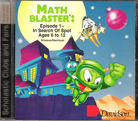 Math Blaster: Episode 1- In Search of Spot - Ages 6-12