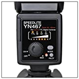 Yongnuo YN-467 Flash Speedlite Dedicated E-TTL for Canon DSLR Cameras