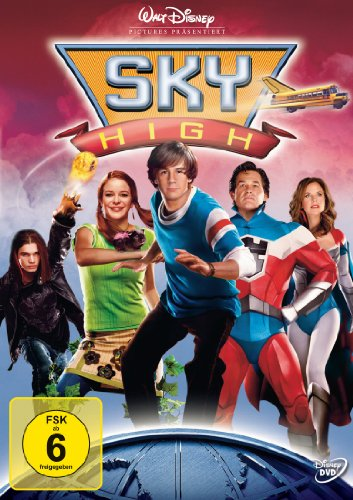 Sky High - Diese Highschool hebt ab!, DVD