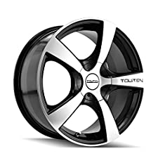 Touren TR9 3190 Black Wheel with Machined Face (17×7″/10x100mm)