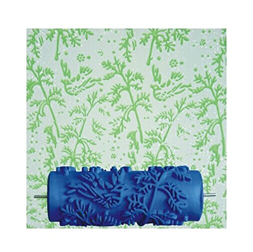 New Birds Pattern Liquid Wallpaper Paint Roller GR-6(1 Paint pattern roller w/ paint feed machine)