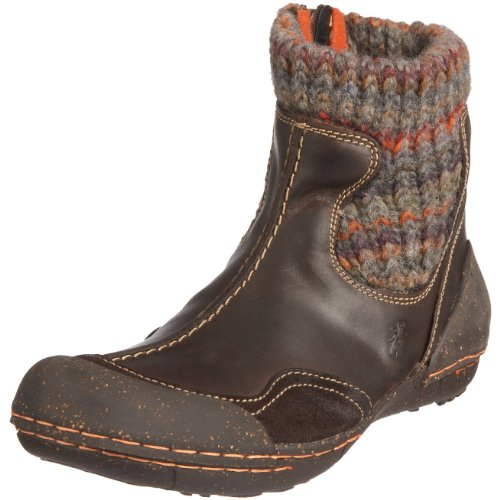 Fly London Junior Farin Dark Brown Classic Boot P601019004 13 Child UK
