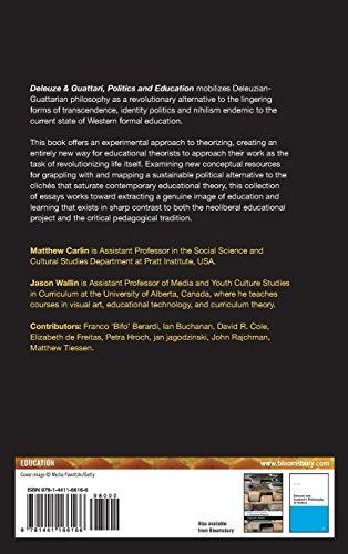 Deleuze and Guattari, Politics and Education