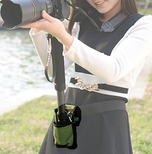 撮影 に超便利 カメラ 一脚 ホルダー 腰ベルト / 場所がなくても しっかりカメラを固定 / 撮影会 運動会 スポーツ フェス 旅行 (1.5kg以上の機材向け)
