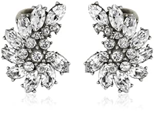 Ben-Amun Jewelry Crystal Cluster Earrings