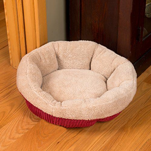 evelots soft self heating pet bed cats dogs soft