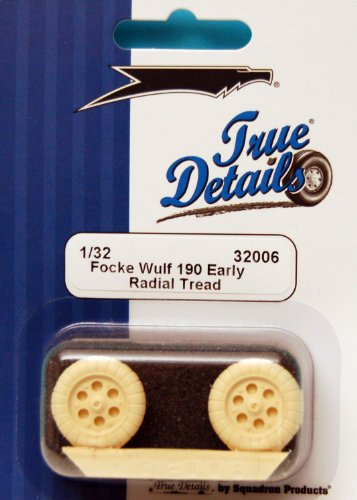 True Details Fw 190A Wheel Set (Early Pattern)