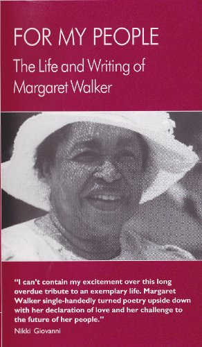 """life and works of margaret abigail walker When for my people by margaret walker won the yale series writers at work, continuum, 1983 walker, margaret brooks, """"dr margaret abigail walker."""
