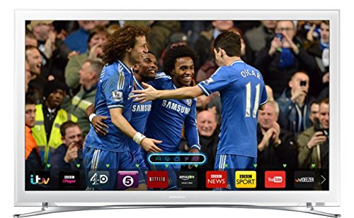 Image of Samsung UE22H5610 22-inch Widescreen Full HD 1080p Slim Smart LED TV with Built In Wi-Fi and Freeview HD - White
