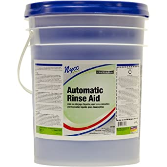 Nyco Products NL339-P5 Automatic Rinse Aid, 5-Gallon Pail