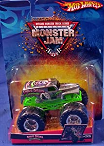 2001 Hot Wheels Monster Jam Red Dot BUSTIN' LOOSE 1:64 Scale Collectible Truck