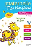 Mon bloc fiches Moyenne Section